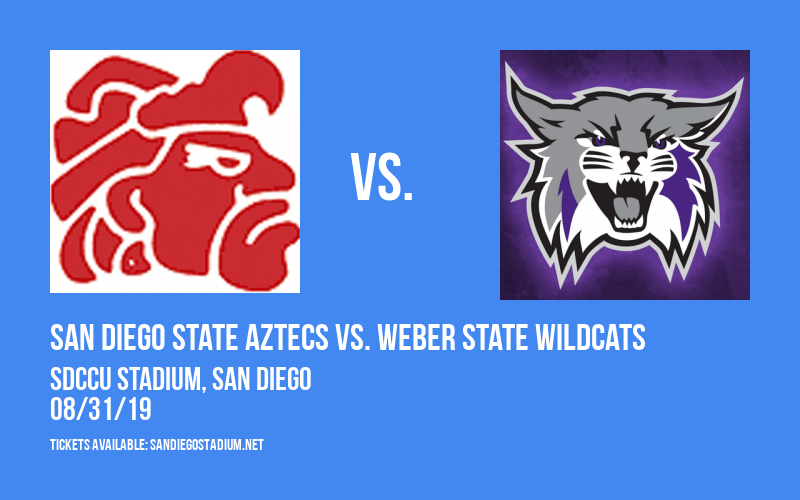 San Diego State Aztecs vs. Weber State Wildcats at SDCCU Stadium