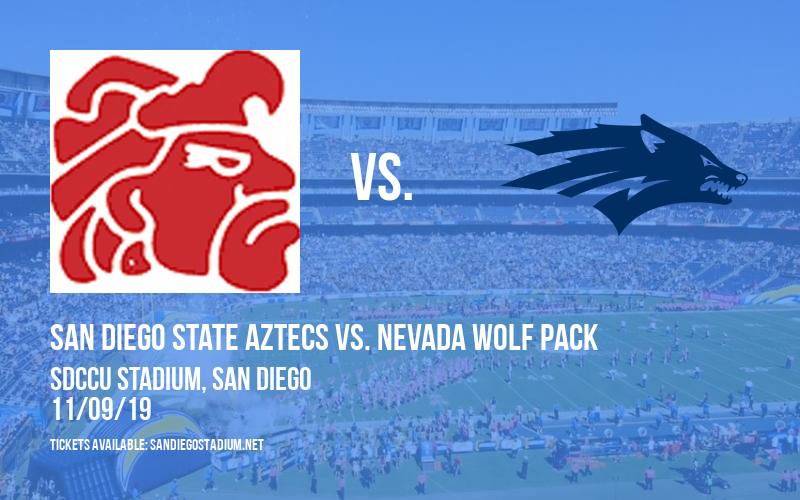 San Diego State Aztecs vs. Nevada Wolf Pack at SDCCU Stadium