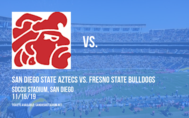 San Diego State Aztecs vs. Fresno State Bulldogs at SDCCU Stadium
