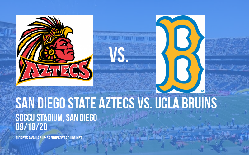 San Diego State Aztecs vs. UCLA Bruins at SDCCU Stadium