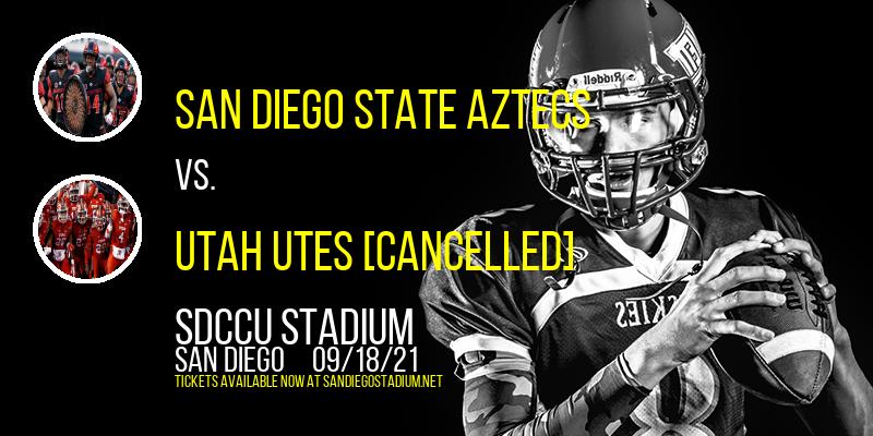 San Diego State Aztecs vs. Utah Utes [CANCELLED] at SDCCU Stadium