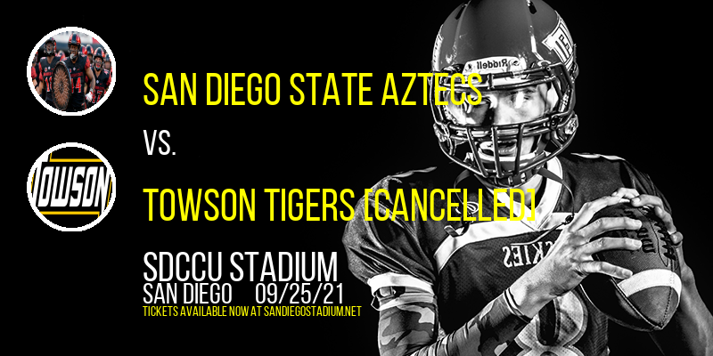 San Diego State Aztecs vs. Towson Tigers [CANCELLED] at SDCCU Stadium